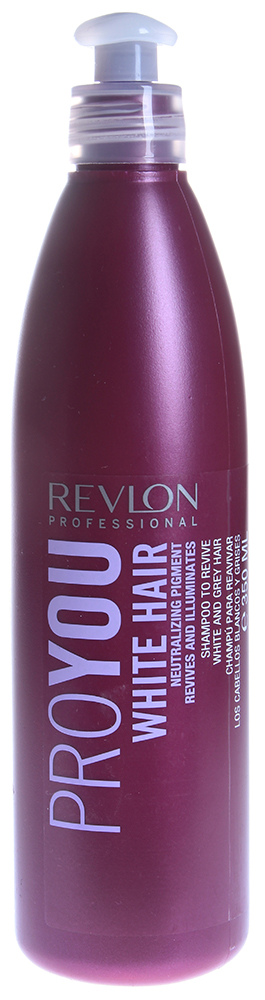 REVLON ������� ��� �������� � ������ ����� � ������������� ����� / PROYOU WHITE HAIR 350��