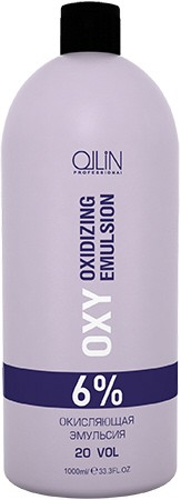 OLLIN PROFESSIONAL Эмульсия окисляющая 6% (20vol) / Oxidizing Emulsion OLLIN performance OXY 1000 мл - Окислители