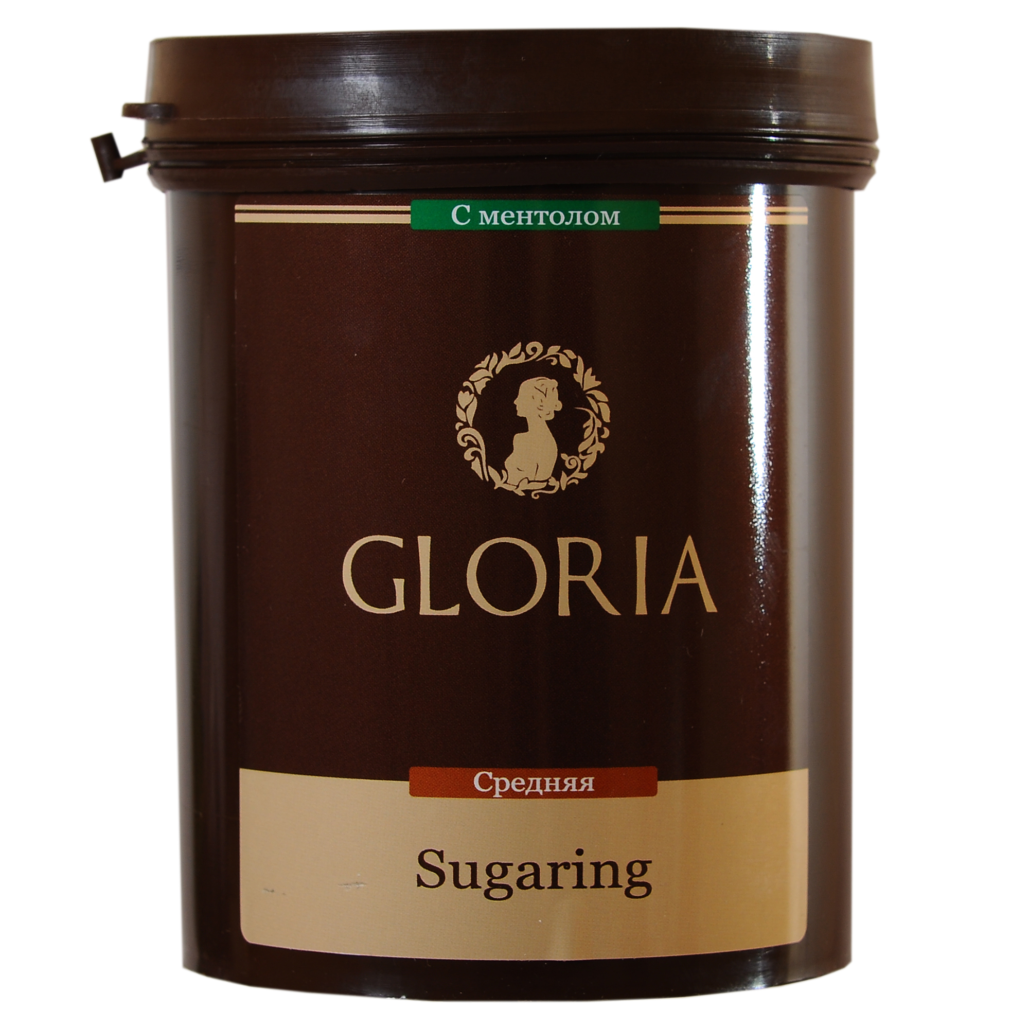 GLORIA Паста для шугаринга Gloria средняя с ментолом 0,8 кгСахарные пасты<br>Мы заботимся не только о комфорте работы для мастеров, но и качестве процедуры шугаринга для клиентов. Поэтому мы разработали линейку пасты для сахарной эпиляции, в которую добавили ментол. Ментол позволит не только уменьшить болезненность неприятных ощущений во время процедуры шугаринга, но подарит коже клиента приятную прохладу. Активные ингредиенты: вода, глюкоза, фруктоза, лимонный сок. Способ применения:&amp;nbsp;на предварительно очищенную и обезжиренную кожу нанести небольшое количество пасты в направлении, противоположном направлению роста волос. Резким движением оторвать пасту вместе с нежелательными волосками, второй рукой натягивая кожу в противоположную сторону. По окончании процедуры остатки пасты удалить влажной салфеткой. Количество процедур: 25-30<br><br>Объем: 0,8 кг<br>Вид средства для тела: Сахарный