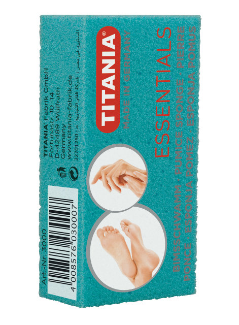 TITANIA Пемза цветная 3000 от Галерея Косметики