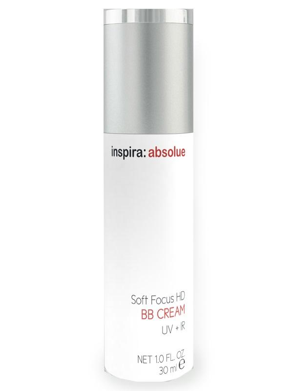INSPIRA COSMETICS BB-крем выравнивающий цвет кожи, с солнцезащитным эффектом для лица / Cream HD Soft Focus INSPIRA ABSOLUE 30 мл