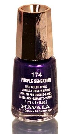 """MAVALA ��� ��� ������ ���� """"���������� ��������"""" / Purple Sensation 5��"""