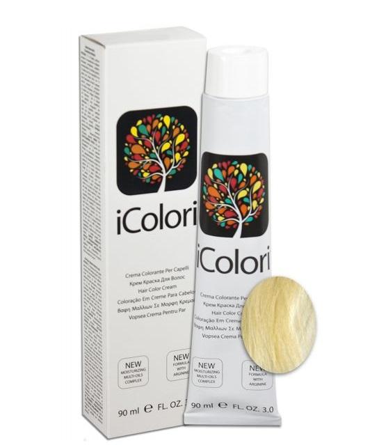 KAYPRO 11.0 краска для волос, супер-платиновый натуральный блондин / ICOLORI 90 мл
