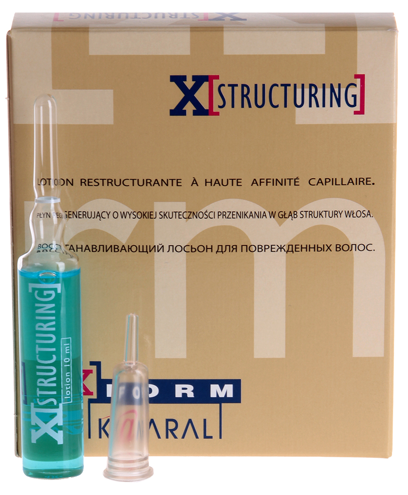 KAARAL ������ ����������������� ��� ������������ ����� / �-Structuring Repair Lotion X-FORM 12*10��