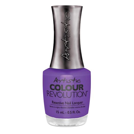 ARTISTIC Лак недельный для ногтей (230021) / Revolution Nail Lacquer PIN-UP PURPLE, 15 мл лаки для ногтей isadora лак для ногтей гелевый gel nail lacquer 247 6 мл