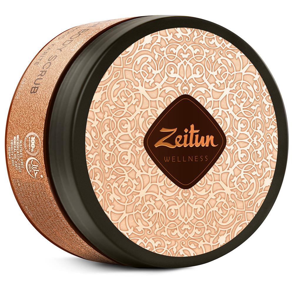 Купить ZEITUN Крем-скраб насыщенный для тела Ритуал наслаждения / Delight 200 мл