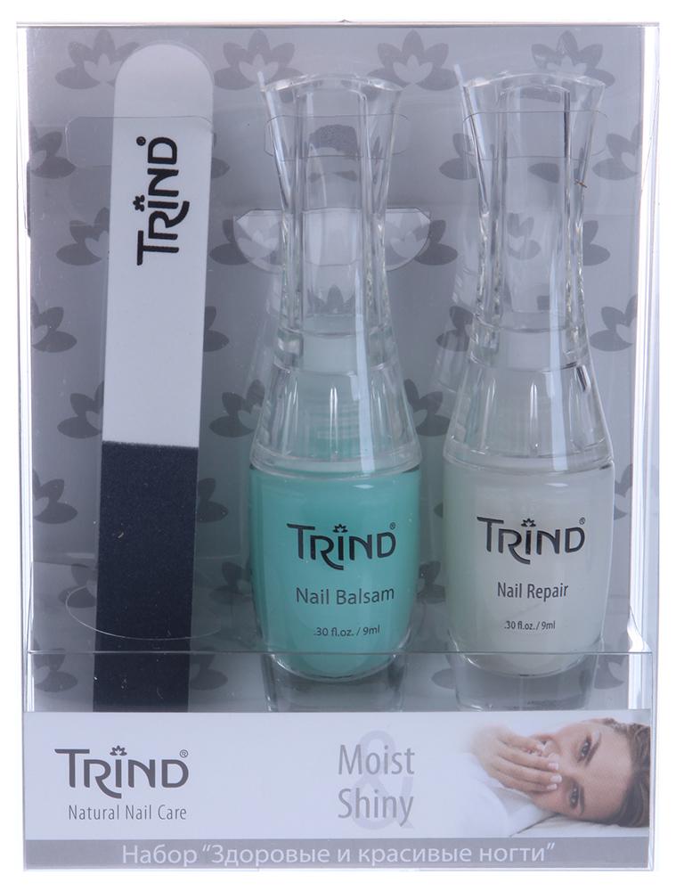 """TRIND ����� """"Moist&Shiny Set"""" / Nail Magic+Nail Repair+Nail Balsam"""