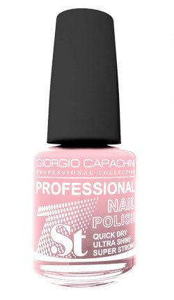 Купить GIORGIO CAPACHINI 14 лак для ногтей, розовый ирис / 1-st Professional 16 мл, Розовые