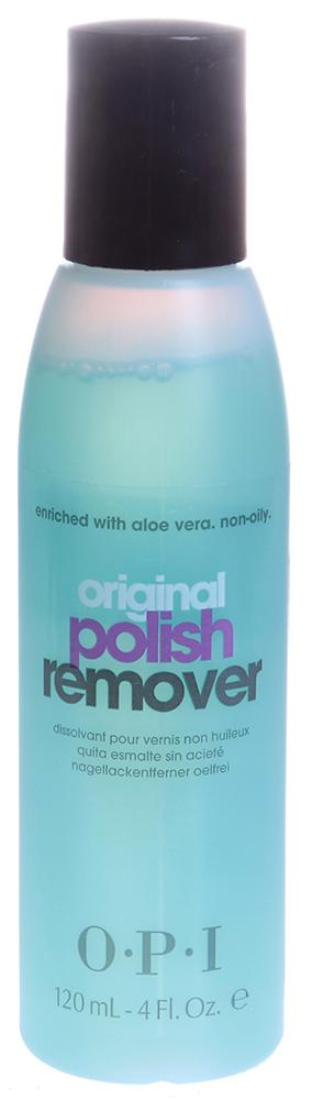 OPI Жидкость с экстрактом алоэ для снятия лака с натуральных ногтей / Polish Remover 120 мл