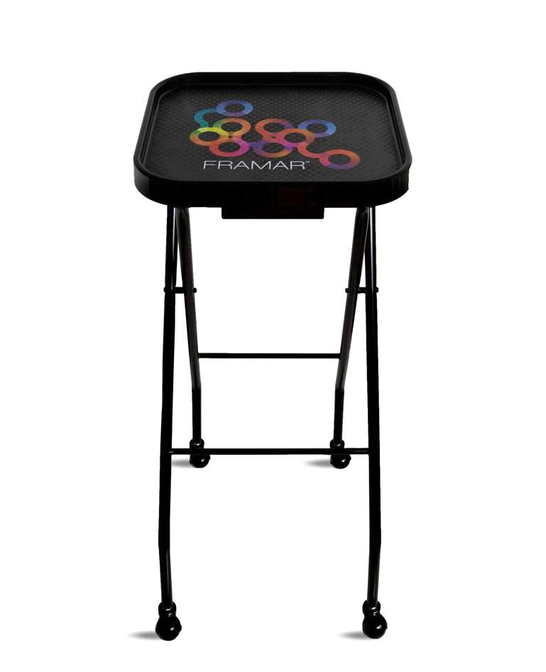 Купить FRAMAR Столик колориста складной на колесах / Folding Trolley