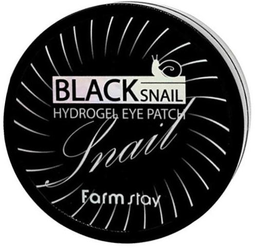 FARMSTAY Патчи гидрогелевые с муцином черной улитки для области вокруг глаз / HYDROGEL EYE PATCH 60 шт фото