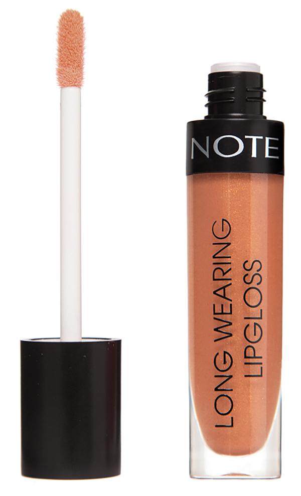 Купить NOTE Cosmetics Блеск стойкий для губ 06 / LONG WEARING LIPGLOSS 6 мл