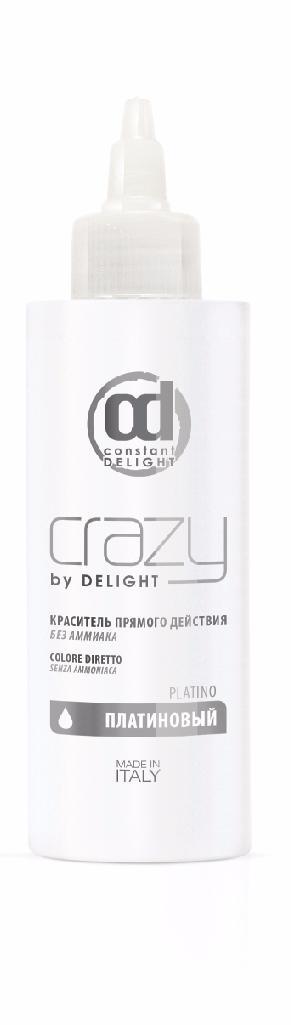 CONSTANT DELIGHT Краситель прямого действия без аммиака платиновый / Crazy by Delight 150мл