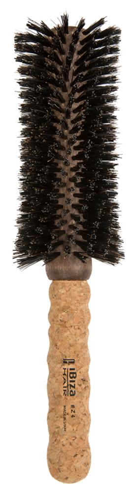 IBIZA HAIR Щетка вогнутая для укладки волос, диаметр 65 мм (пробка) - Брашинги