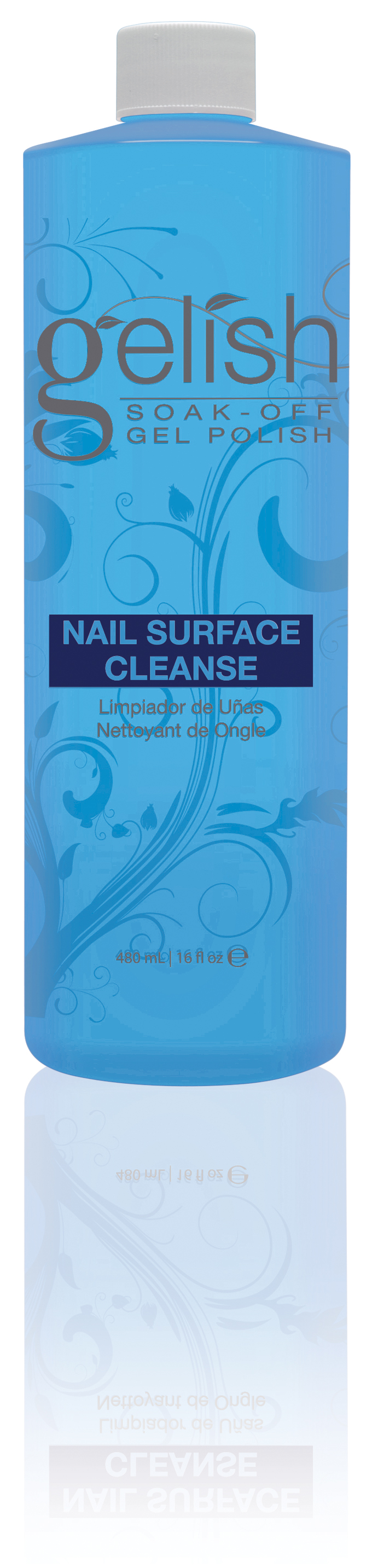 GELISH �������� ��� �������� ������� ���� / GELISH Nail Surface Cleanser 480��