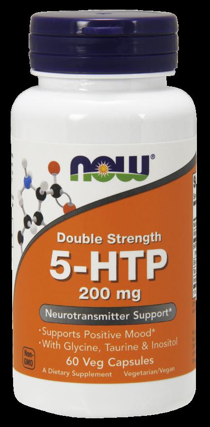 Купить NOW FOODS 5-HTP 200 мг, капсулы 670 мг № 60