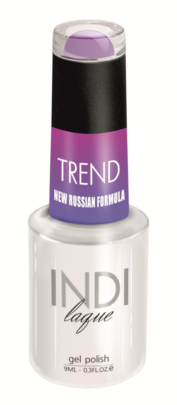 Купить RuNail 5081 гель-лак для ногтей / INDI laque Trend 9 мл, Фиолетовые