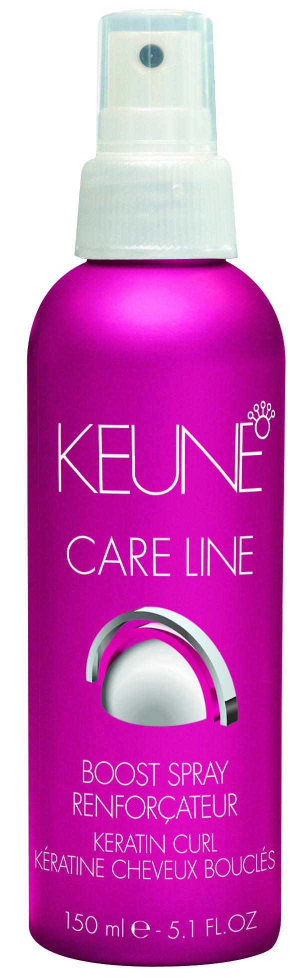 KEUNE Спрей Кэе Лайн Кератиновый локон / CL KERATIN CURL BOOST SPRAY 150мл keune кондиционер спрей 2 фазный для кудрявых волос кэе лайн cl control 2 phase spray 400мл