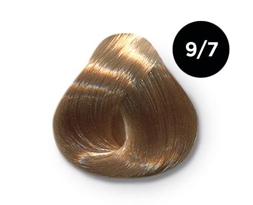 OLLIN PROFESSIONAL 9/7 краска для волос, блондин коричневый / OLLIN COLOR 60 мл