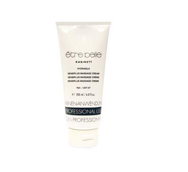 ETRE BELLE Крем массажный гидрошелк / Hydrasilk Massage cream 200 млКремы<br>Массажный крем с протеинами шелка и белым чаем, является идеальным средством для массажа всех типов кожи, особенно для обезвоженной, чувствительной, раздраженной кожи. Обеспечивает превосходный скользящий эффект, смягчает, питает и увлажняет кожу. Не камедоногенен. Показание: Для всех типов кожи, особенно для чувствительной, обезвоженной, раздраженной кожи. Активные ингредиенты:&amp;nbsp;протеины шелка, экстракт ивы белой, пантенол, пшеничный протеин, витамин Е, серин, мочевина, Экстракт камелии китайской, экстракт магнолии, экстракт туевика, экстракт пампельмуса (помело), экстракт ромашки лекарственной, прополис, серин, экстракт кардиосперума, аллантоин, масло эхиума кривоцветкового, молочная кислота. Способ применения: применять согласно регламенту процедуры.<br><br>Вид средства для лица: Массажное