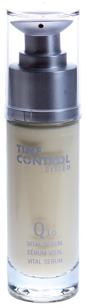 ETRE BELLE Витаминная сыворотка с Q10 / Time Control Q10 Vital Serum 30млСыворотки<br>Регенерирующий и витаминизирующий коктейль активных ингредиентов, с высоким содержанием коэнзима Q10 и витаминов А и Е для сухой и увядающей кожи. Коэнзим Q10 участвует в процессах выработки клеточной энергии. Часть его вырабатывается в организме, часть поступает с пищей. С возрастом выработка уменьшается, что ведет к замедлению энергетических процессов и снижению работоспособности клеток. Это провоцирует появление морщин. При регулярном использовании этой сыворотки процесс образования энергии стабилизируется. Восстанавливается уровень увлажненности всех участков кожи, стимулируется выработка коллагена и эластина, что повышает упругость кожи. Высококонцентрированные растительные масла заботятся о коже и защищают ее, а церий стимулирует уплотнение клеточной структуры кожи, повышая способность кожи удерживать влагу Показание: для зрелой, сухой и обезвоженной кожи Активные вещества: Q10, витамин А, керамиды, пантенол, аллантоин, экстракт клевера, масло ореха Mакадамия, масло авокадо, масло примулы вечерней, экстракт риса, персиковый экстракт, гиалуроновая кислота, токоферол Способ применения: Средство наносится на предварительно очищенную кожу лица, шеи и области декольте. После этого наносится дневной или ночной крем.<br><br>Назначение: Морщины
