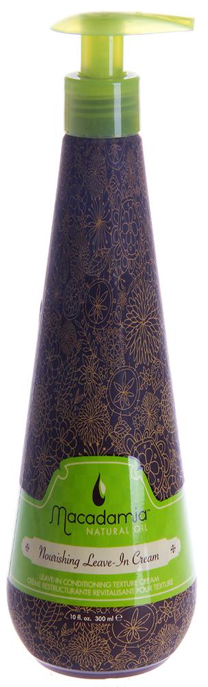 MACADAMIA NATURAL OIL Кондиционер питательный несмываемый с маслом арганы и макадамии / Nourishing Leave-in Cream 300 мл