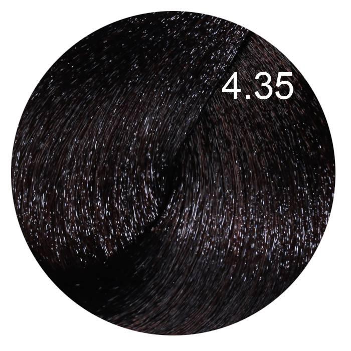 FARMAVITA 4.35 краска для волос, каштановый шоколадный / LIFE COLOR PLUS 100 мл
