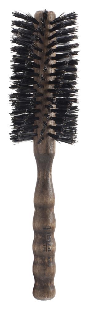 IBIZA HAIR Щетка круглая, закрученная для укладки волос, диаметр 55 мм (красное дерево) - Брашинги