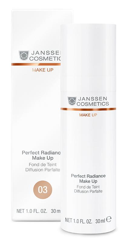 JANSSEN Крем стойкий тональный с UV-защитой SPF-15 для всех типов кожи (капучино) 30 мл