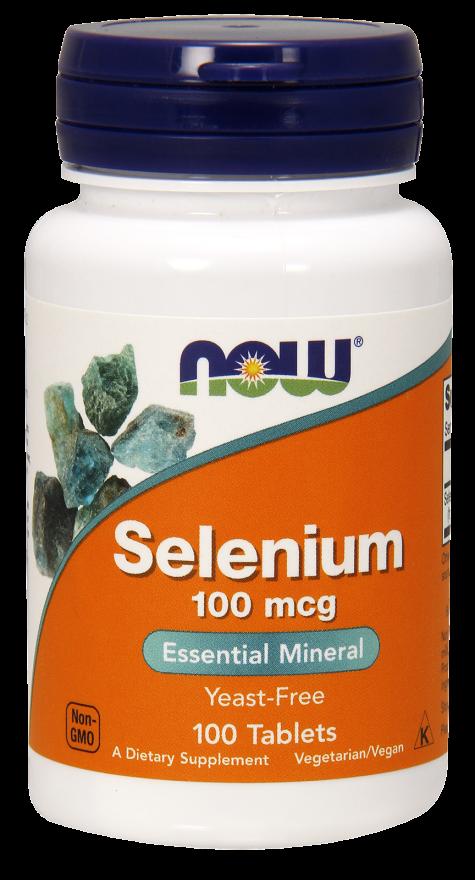 NOW FOODS Селениум, таблетки 518 мг № 100
