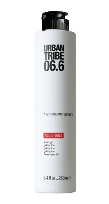 URBAN TRIBE Гель жидкий 06.6 / Liguid Glaze 250млГели<br>Жидкий гель придает оформленность, эластичность и плотность всем типам волос. Очень универсален в использовании, идеально подходит для укладки кудрявых или прямых волос, феном или руками. Средняя фиксация, устойчивая к влажности.<br>