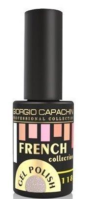 Купить GIORGIO CAPACHINI 118 гель-лак трехфазный для ногтей / French 7 мл, Серые