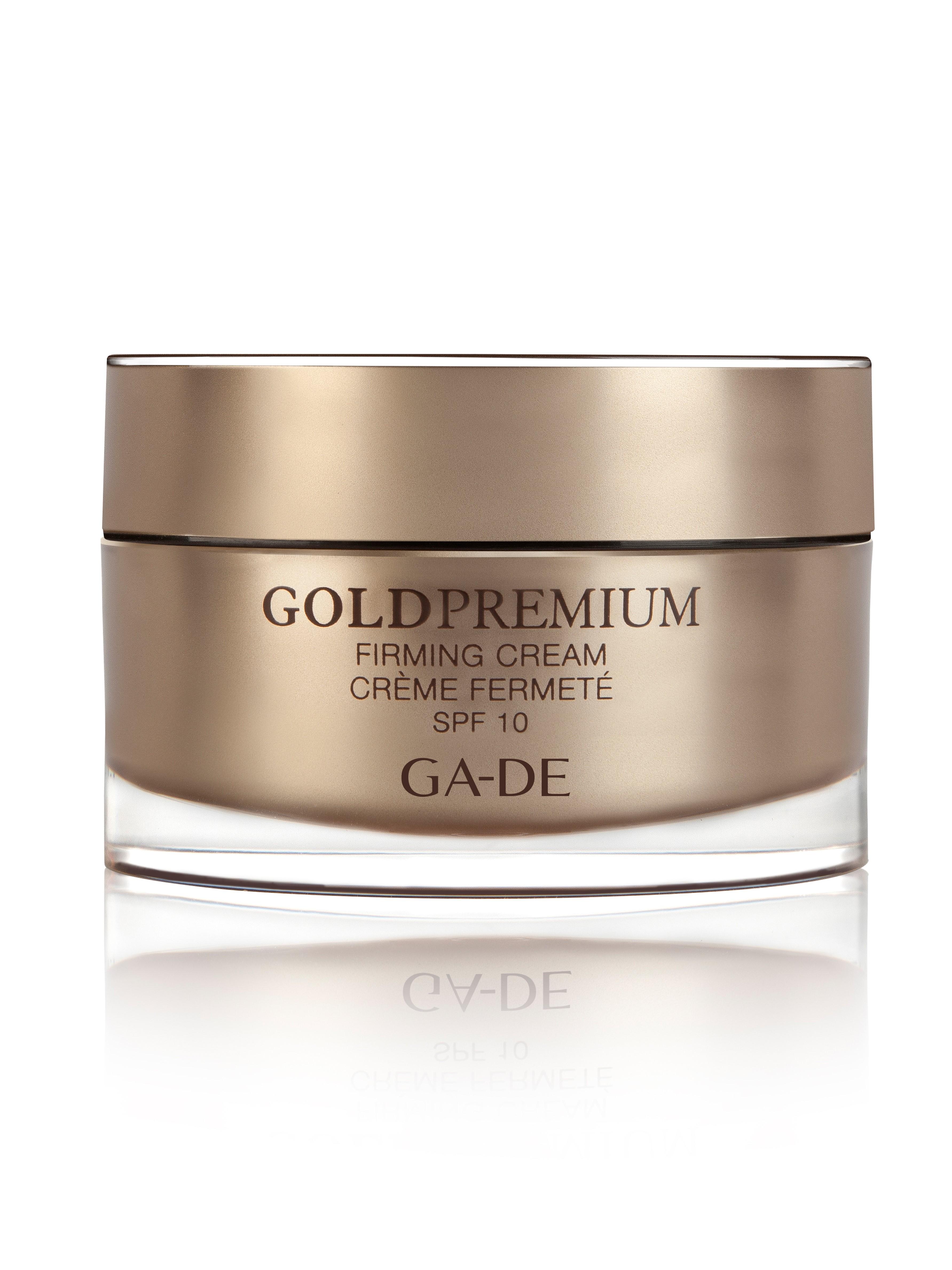 GA-DE Крем дневной укрепляющий SPF10 / GOLD PREMIUM 50мл