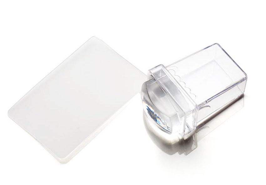 TNL PROFESSIONAL Штамп для стемпинга прозрачный малый