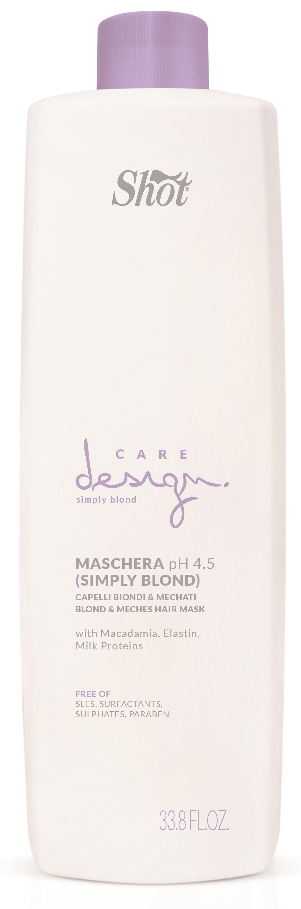 Купить SHOT Маска для осветленных и мелированных волос / Care Design 1000 мл