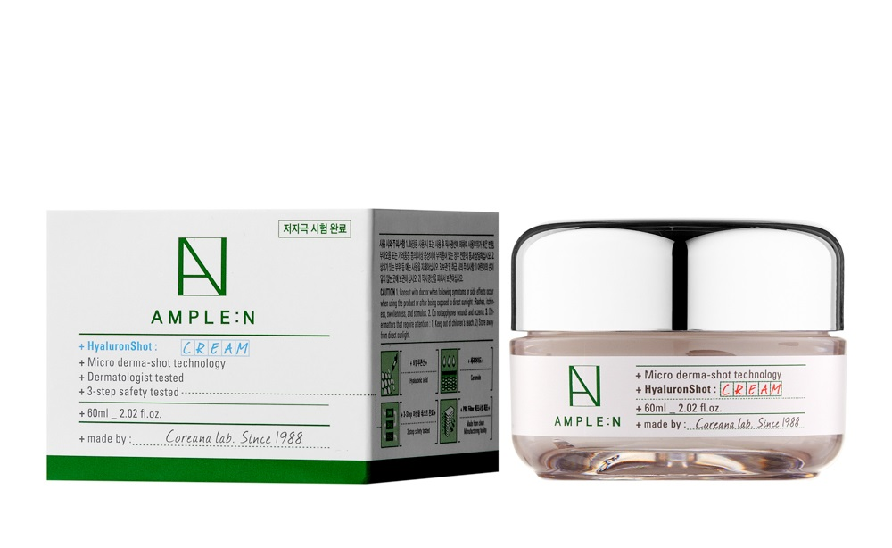 Купить AMPLE:N Крем гиалуроновый для лица / HYALURON SHOT CREAM 60 мл