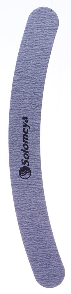 SOLOMEYA Пилка для ногтей Бумеранг 180/240 / Curved White FileПилки для ногтей<br>Пилка Solomeya &amp;laquo;Бумеранг&amp;raquo; предназначена для обработки любых искусственных ногтей. Ее форма позволяет производить шлифовку, не повреждая область кутикулы. Также используется для запиливания боковых сторон, придания длины и формы ногтям.  180 грит &amp;ndash; предназначена для придания ногтям длины и формы. 240 грит   убирает все царапины на искусственных ногтях после использования более грубых пилочек. Также предназначена для выравнивания и придания окончательной формы. Способ применения: Использовать для придания формы и корректировки длины искусственных и натуральных ногтей, а также их шлифовки.<br>
