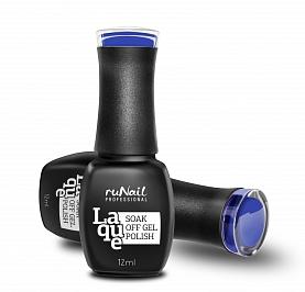 RuNail 2154 гель-лак для ногтей Индиго / Laque 12 мл