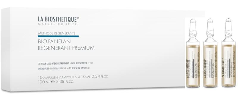 LA BIOSTHETIQUE Сыворотка против выпадения волос по андрогенному типу, в ампулах / Biofanelan Regenerant Premium