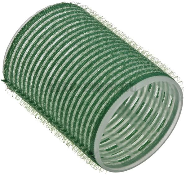 SIBEL Бигуди-лип.(10)S 48мм зеленые 6шт/уп SibelБигуди<br>Бигуди 48 мм зеленые с внешним слоем ворсистой ткани  липучка , 6 штук в упаковке. Бигуди на липучках дают возможность очень быстро нанести их на волосы благодаря наличию на них мелких ворсинок  липучек , они не закрепляются на волосах специальными приспособлениями, поэтому позволяют довести локон до самых корней волос не оставляя следов от зажимов и резинок.<br>