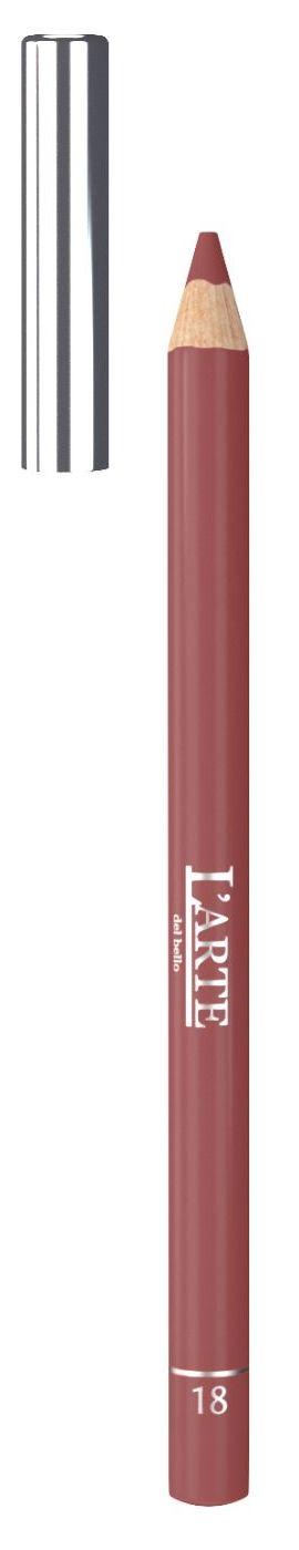 LARTE DEL BELLO Карандаш для губ, тон 18 / PROFESSIONALE 1,12 г