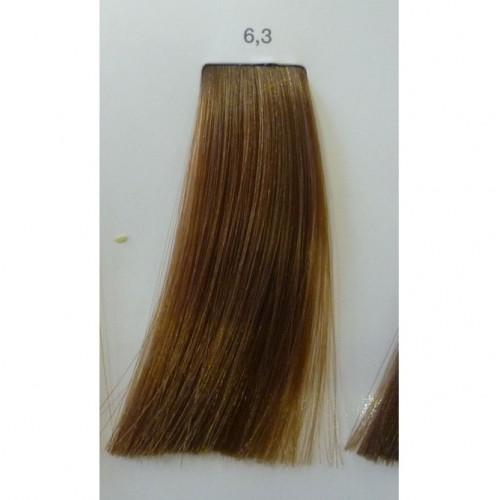 LOREAL PROFESSIONNEL 6.3 краска для волос / ЛУОКОЛОР 50млКраски<br>Крем-краска 6.3 Luo color от LOreal Professionnel придает волосам больше мягкости и блеска, а цвет становится живой и переливающийся. Уникальная технология позволяет индивидуально подойти к каждому волосу, сохраняя природную неоднородность для достижения непревзойденного рельефного цвета. Состав. Система Протект Шайн, Система Рефлект Шайн, масло виноградных косточек Способ применения. Наносить смесь при помощи кисточки на сухие, невымытые волосы. Оставить на 20 минут. Тщательно эмульгировать и ополоснуть водой. При тонировании обесцвеченных волос экспозиция 5-10 минут.<br><br>Цвет: Корректоры и другие<br>Объем: 50