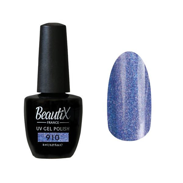 BEAUTIX 910 гель-лак для ногтей 8 мл, Синие  - Купить
