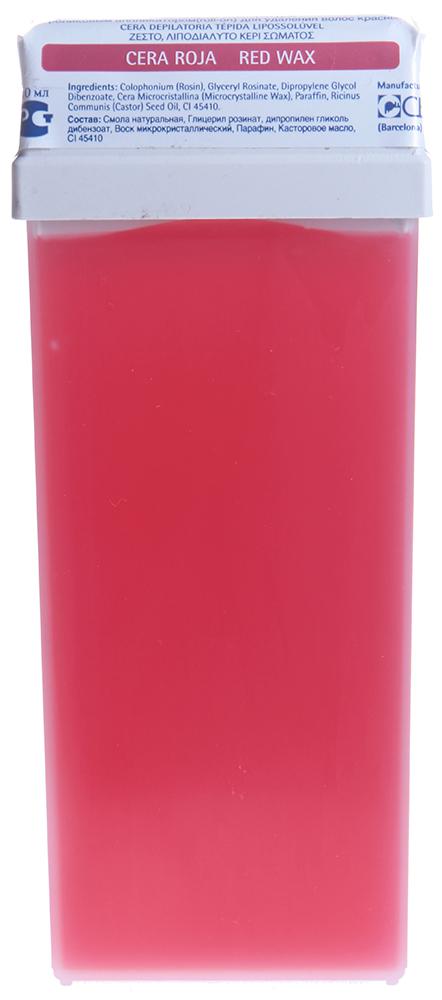 BEAUTY IMAGE Кассета с воском для тела Красный / ROLL-ON 110млВоски<br>Воск средней плотности с экстрактом герани. Для любого типа кожи. Воск в кассетах roll-on изготовлен из натуральной древесной смолы и предназначен для депиляции на любых участках тела. При нанесении на кожу воск мгновенно остывает до температуры тела, не оказывая выраженного теплового воздействия. Теплый воск наносится на кожу тонким прозрачным слоем и хорошо сцепляется даже с маленькими волосками и удаляется только с помощью специальной бумаги. Воск в кассетах системы roll-on разогревается в нагревателе-аппликаторе в течение 15-20 минут до жидкого состояния (около 40-45 градусов). Нагреватель-аппликатор Beauty Image имеет вмонтированный терморегулятор, благодаря которому поддерживается оптимальная температура воска и исключается возможность ожога. На зону депиляции воск наносят, не вынимая кассету из нагревателя, при этом необходимо отключить аппарат от электросети. Наносится теплый воск всегда по росту волос, а удаляется против роста с помощью специальной бумаги. После процедуры остатки воска удаляются цветочным маслом Beauty Image. Активные ингредиенты: Смола натуральная, гидрогенезированный розинат, лимонен, диоксид титана Следуйте инструкциям, указанным на упаковке. Перед использованием сделайте ТЕСТ НА ЧУВСТВИТЕЛЬНОСТЬ КОЖИ, нанеся воск на небольшой участок кожи в том месте, где будете удалять волосы, следуя инструкции по применению. Если в течении 24 часов не появилось раздражение, воск можно использовать. &amp;bull; Кожа должна быть чистой, сухой, без крема или масла. &amp;bull; Удаляемые волосы должны быть оптимальной длины - не менее 5 - 7 мм &amp;bull; Эпиляция не проводится, если кожа травмирована или на ней имеется раздражение или последствия солнечного ожога. &amp;bull; Если на участке тела, где проводится эпиляция имеются накожные доброкачественные новообразования (папилломы, бородавки), то не следует наносить воск на эти образования. &amp;bull; Биоэпиляция не проводится после ванн