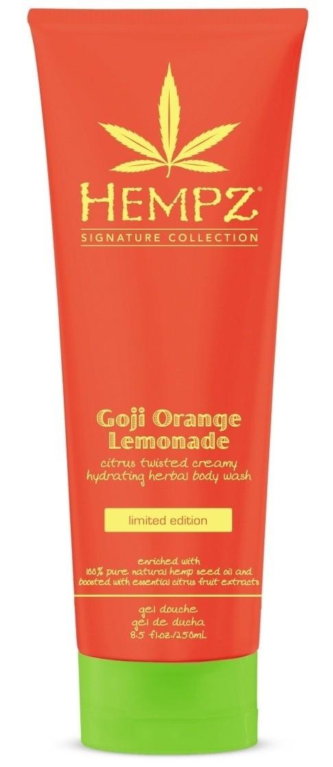 HEMPZ Гель для душа & Годжи и апельсиновый лимонад&  250мл -  Гели для душа