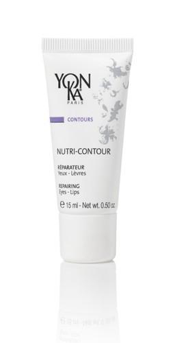 YON KA Крем Nutri-contour / CONTOURS 15млКремы<br>Этот нежный крем, насыщенный витаминами, не только обладает великолепными питательными и антиоксидантными свойствами, но и является прекрасной основой для макияжа. Питает кожу, предотвращает сухость контуров губ и глаз. Является эффективной профилактикой старения. Разглаживает глубокие и мелкие морщинки. Поддерживает увлажненность поверхностных слоев эпидермиса. Активные ингредиенты: масло лесного ореха, витамины Е, F, РР, экстракты ромашки и мяты перечной. Способ применения: наносить тонким слоем утром и/или вечером после очищения кожи и распыления лосьона Yon-Ka. Один раз в неделю рекомендуется наносить препарат в качестве маски на 15 минут, затем смывать теплой водой.<br><br>Вид средства для лица: Нежный<br>Типы кожи: Чувствительная