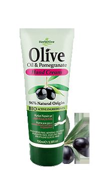 MADIS Крем для рук с экстрактом граната и маслом оливы / HerbOlive 100 мл