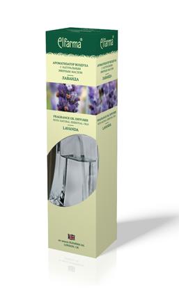 """ELFARMA Ароматизатор воздуха с натуральным эфирным маслом """"Лаванда"""" 90мл"""