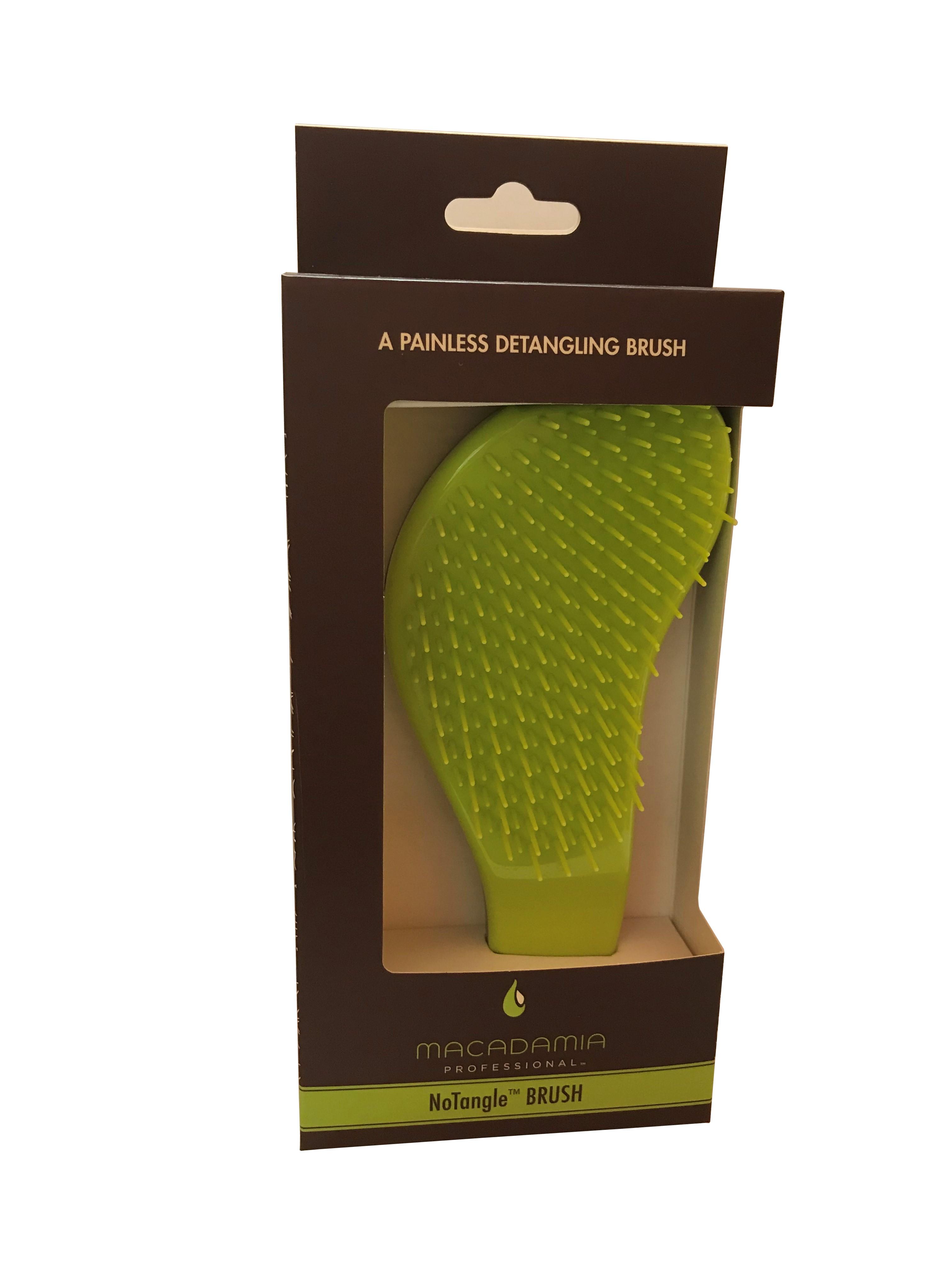 MACADAMIA Natural Oil Расческа для распутывания волос / No Tangle Brush 1 шт - Расчески