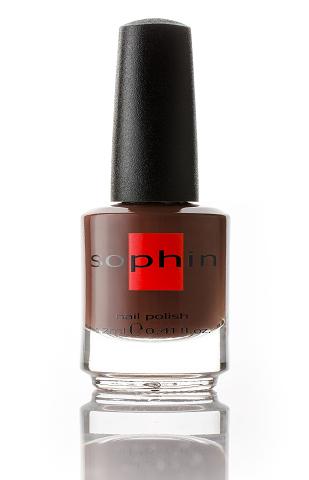 SOPHIN Лак для ногтей, коричневый 12млЛаки<br>Коллекция лаков SOPHIN очень разнообразна и соответствует современным веяньям моды. Огромное количество цветов и оттенков дает возможность создать законченный образ на любой вкус. Удобный колпачок не скользит в руках, что облегчает и позволяет контролировать процесс нанесения лака. Флакон очень эргономичен, лак легко стекает по стенкам сосуда во внутреннюю чашу, что позволяет расходовать его полностью. И что самое главное - форма флакона позволяет сохранять однородность лаков с блестками, глиттером, перламутром. Кисть средней жесткости из натурального волоса обеспечивает легкое, ровное и гладкое нанесение. Big5free! Активные ингредиенты. Состав: ethyl acetate, butyl acetate, nitrocellulose, acetyl tributyl citrate, isopropyl alcohol, adipic acid/neopentyl glycol/trimellitic anhydride copolymer, stearalkonium bentonite, n-butyl alcohol, styrene/acrylates copolymer, silica, benzophenone-1, trimethylpentanedyl dibenzoate, polyvinyl butyral.<br><br>Цвет: Коричневые<br>Виды лака: Жидкий песок